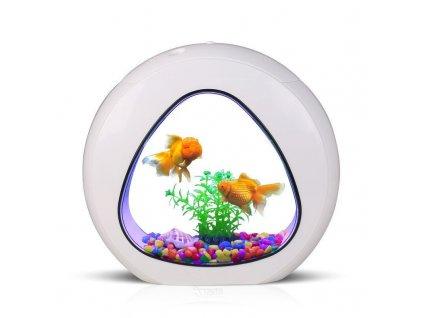 Akvárium SunSun 6l - bílé