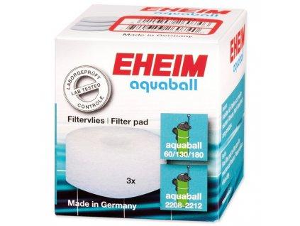 EHEIM vata filtrační Aquaball 60/130/180 3ks