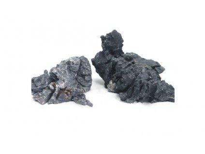 Kámen Seiryu stone black velikost S (méně než 1 kg 5-15cm)