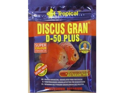Tropical Discus Gran D-50 Plus 20 g