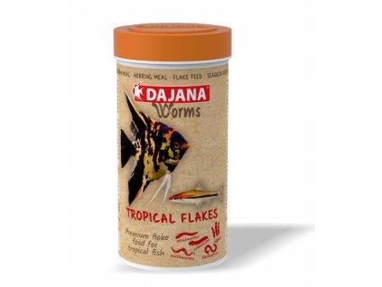 Dajana Worms Tropical flakes 100 ml