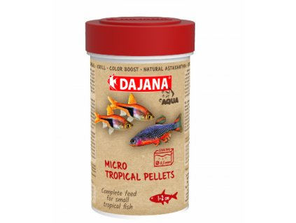 Dajana Micro Tropical Pellets 250 ml