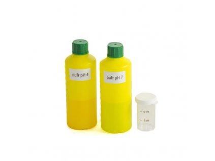 Pufrační roztoky pH 4 + pH 7