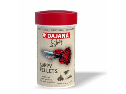Dajana Guppy soft pellets 100 ml