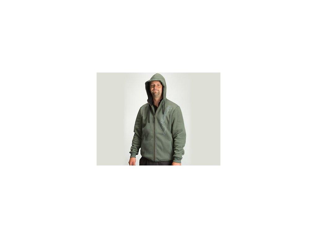 Sportcarp mikina s kapucí Zip Hoodie