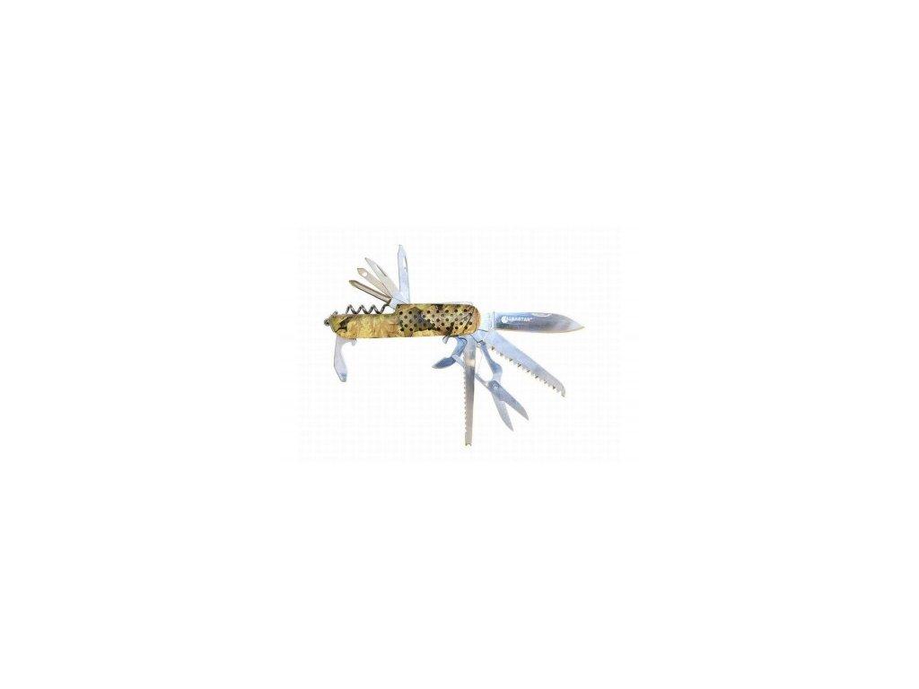 Albastar nůž multifunkční camou