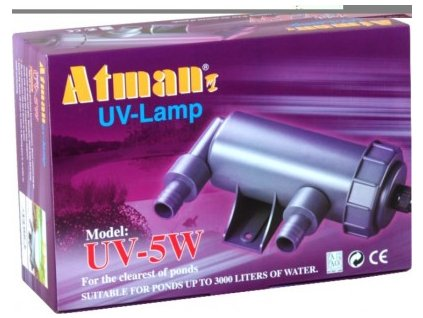 Atman UV-5 W, UV lampa