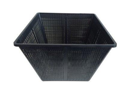 Hranatý košík 28 x 28 cm plastový