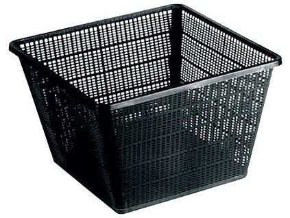 Hranatý košík 35 x 35 cm plastový