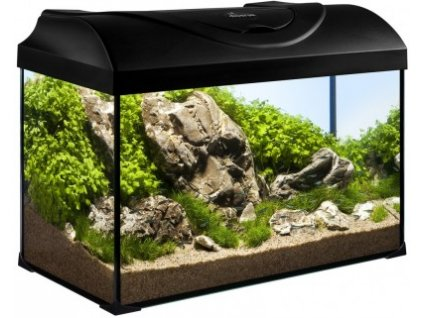 Akvárium set STARTUP 50 rovný 37,5l LED EXPERT DIVERSA černý