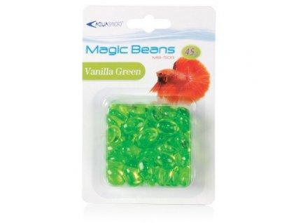 Dekorační kamínky plast - zelené
