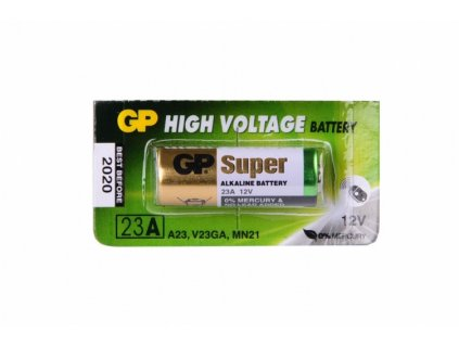 Nenabíjecí baterie 23A GP Alkaline 1ks Blistr