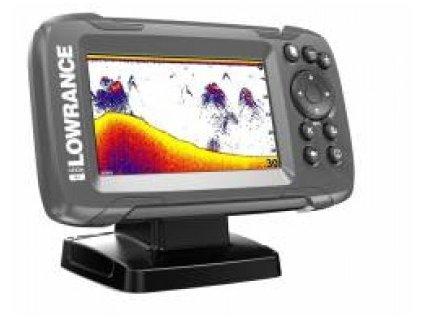 Lowrance HOOK² 4x GPS se sondou Bullet Skimmer+barerie zdarma