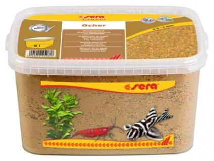 arena gravel ocher 0 2 mm 1 g