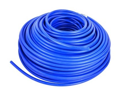 Vysokotlaká hadička 4/6,35 mm pro RO nebo na CO2 (metráž) modrá
