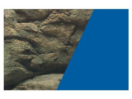 Akvarijní oboustranná tapeta skály/modrá 30cm (cena za 1bm)