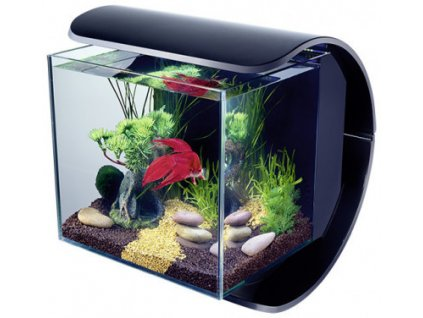 Tetra Silhouette akvarijní set LED černý 12 l