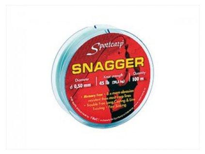 Sportcarp odhozový vlasec Snagger 0,60 mm, 60 lb (27,3 kg) 100 m