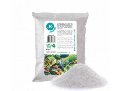 JK Animals bílý křemičitý písek 0,2–0,5 mm, 2 kg