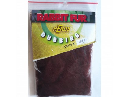 RABBIT FUR DUBBING - BORDÓ