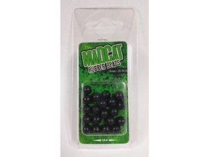 Madcat Rubber Beads 8mm 20ks