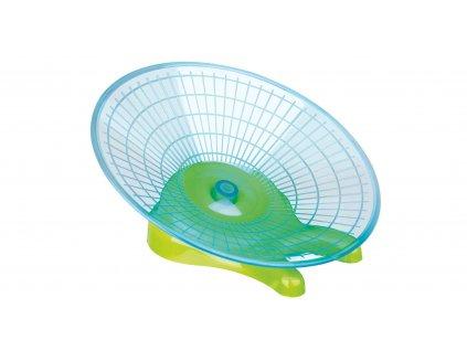 Kolotoč-létající talíř myš,křeček 17cm