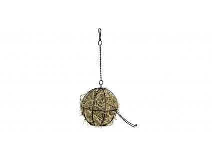 Kovový závěsný míč na potravu 12cm