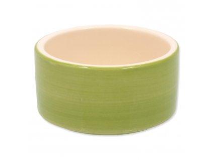 Miska SA keramická pro králíky zelená 10x5cm