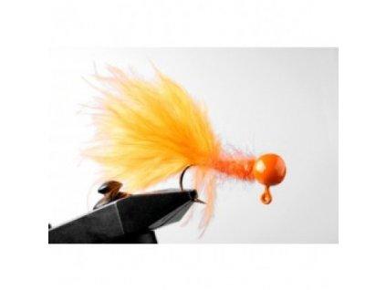 Jigstreamery Marabou 2 gr. oranžový 3 kusy