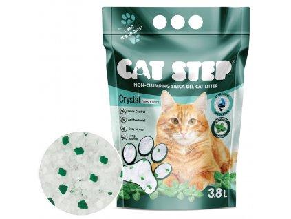 Cat Step Crystal Fresh Mint 1,67kg / 3,8l