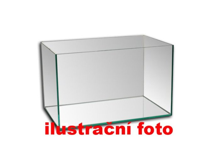 Akvárium lepené 60x30x50 cm obsah:90litrů sklo:6mm