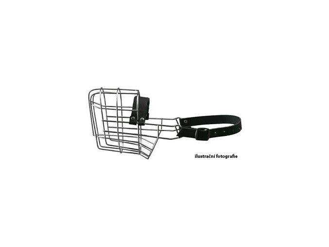 Kovový náhubek - Neapolský mastin, Brazilská fila, Mastif – fena