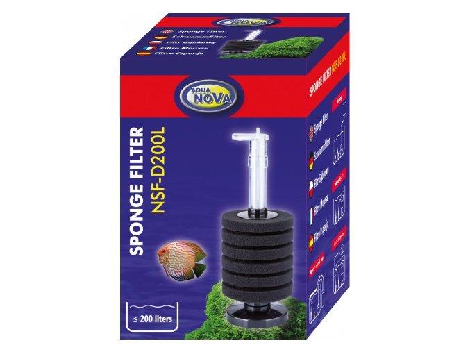 NSF-D200L Vnitřní molitanový filtr - stojánkový
