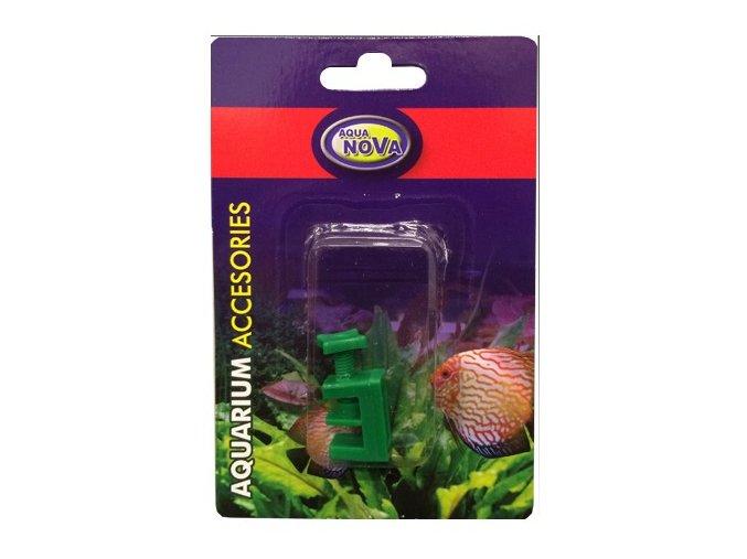 Škrtítko na vzduchovací hadičku - zelené