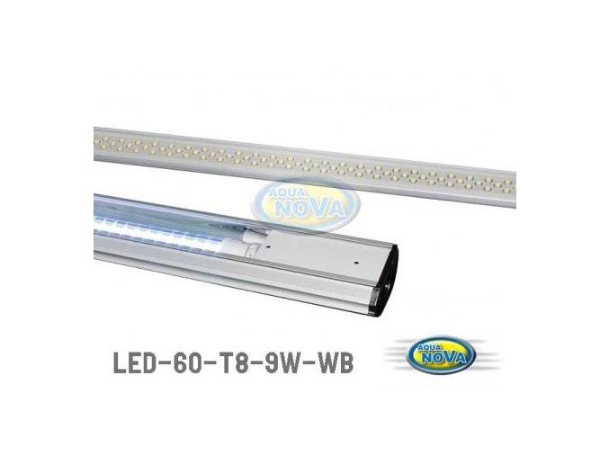 Led trubice 9W 600mm Bílá/Modrá