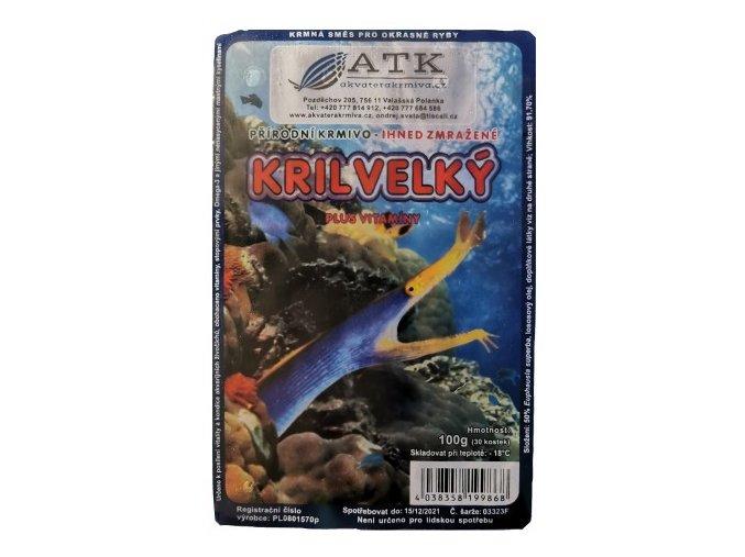 Krill velký 100g blistr