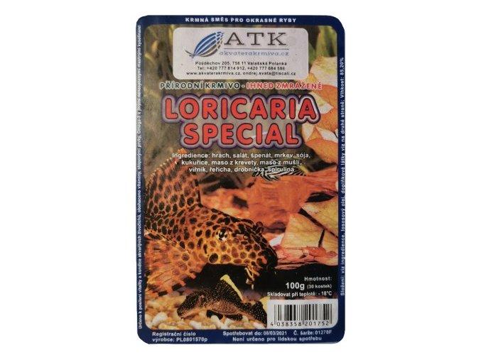 Loricaria special 100g blistr