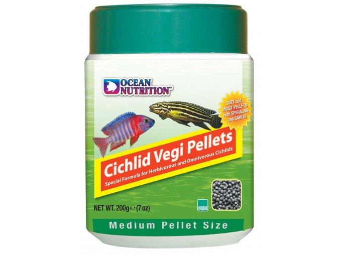 Cichlid Vegi Pellet Medium 200gr