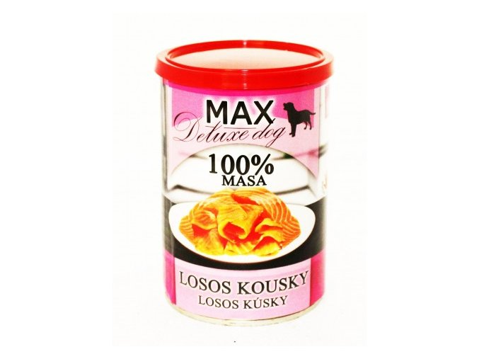 MAX losos kousky 400g