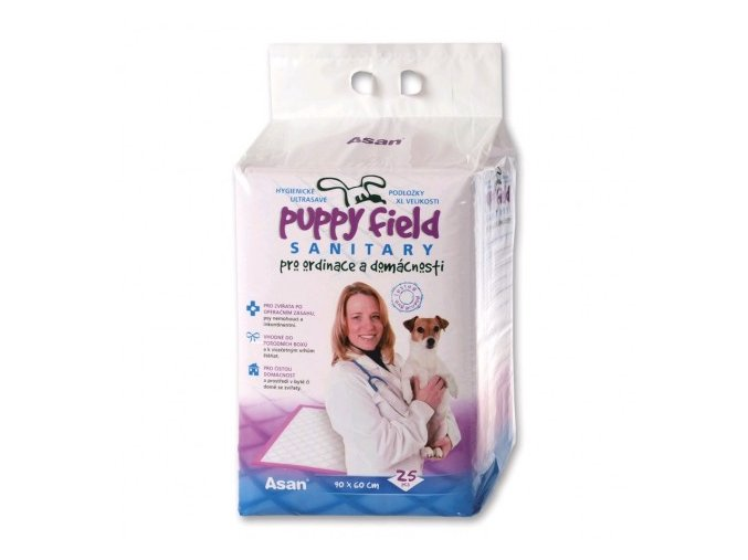 Puppy Field Sanitary pads 25ks/4