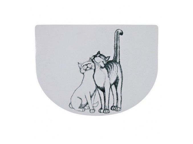 Prostírání s mazlícími se kočkami 40 x 30 cm