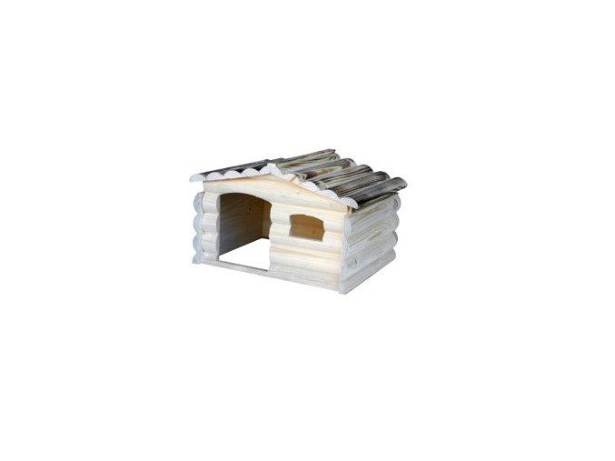 Domek roubenka pro králíky 759