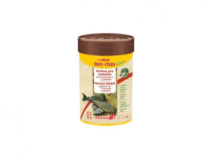 Sera wels chips Nature 100 ml