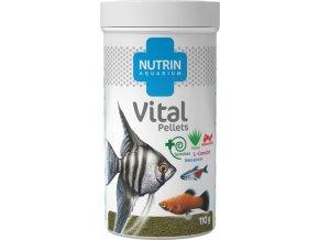 Nutrin Aquarium Vital Pellets110g oriznute