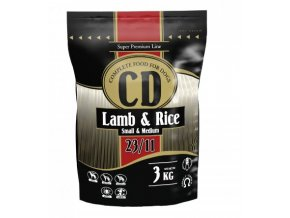 CD Lamb and rice small and medium 3kg