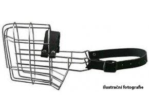 Kovový náhubek - Rotwailer - sportovní PES
