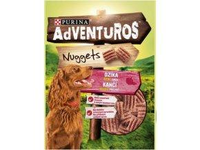 Adventuros nuggets s kančí příchutí 90g