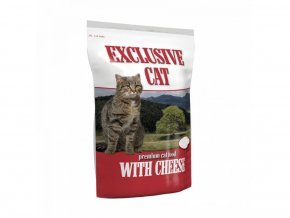Premium Cat Food - Exclusive Cat With Cheese 2kg