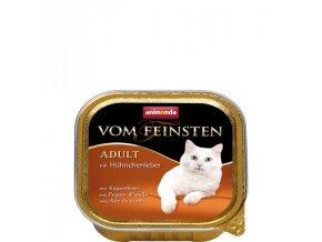 ANIMONDA paštika ADULT - kuřecí játra pro kočky 100g