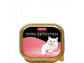ANIMONDA paštika ADULT - krůtí srdíčka pro kočky 100g